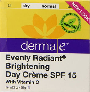 derma e Evenly Radiant Brightening Day Creme - AmericanShop ByHanan
