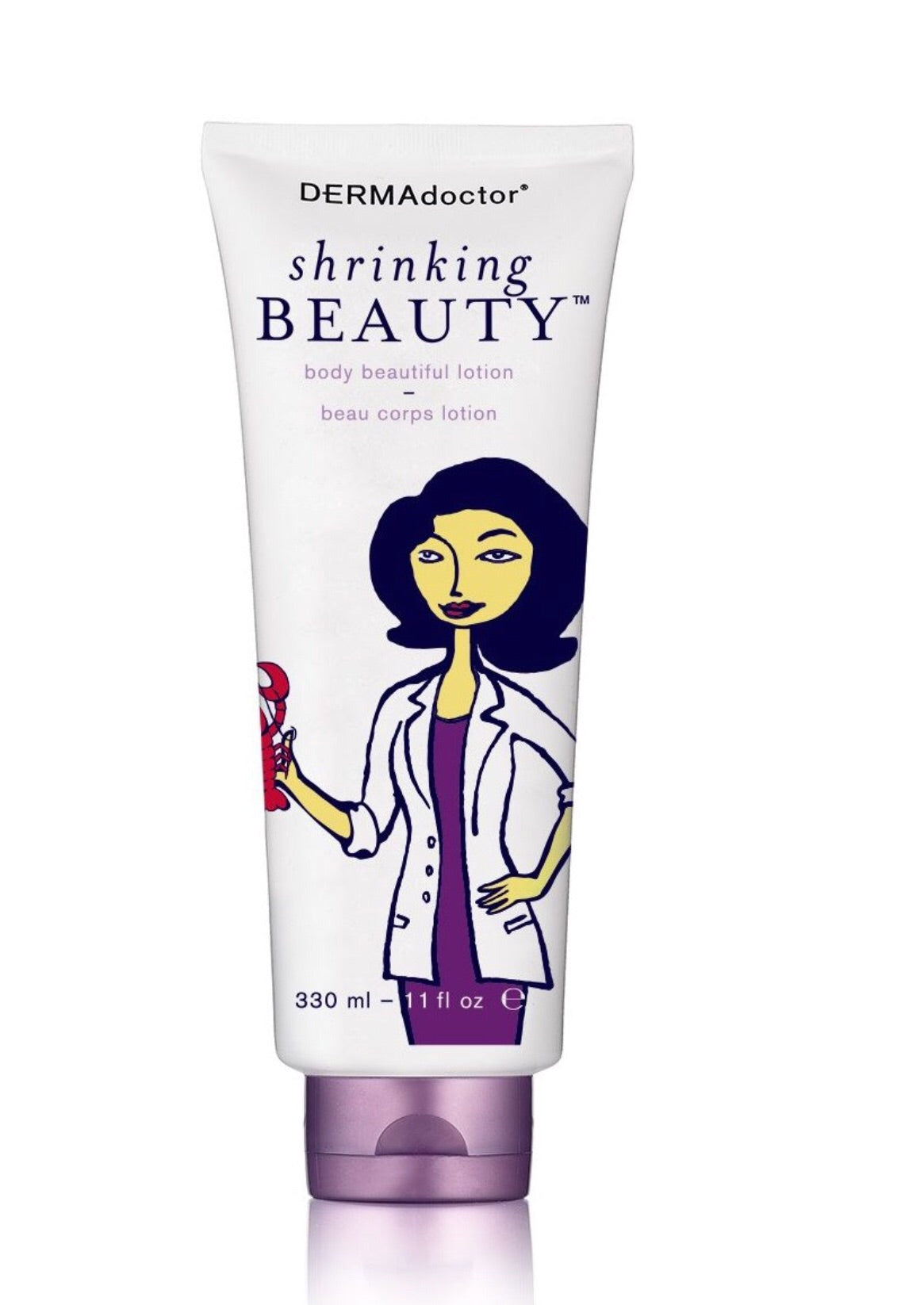DERMADoctor Shrinking Beauty Body Beautiful Lotion, 11 oz.