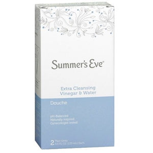 Summer's Eve Extra Cleansing Vinegar & Water Douche