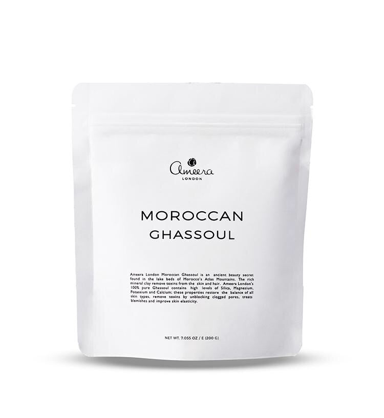 Ameera London CLAY MASK Moroccan Ghassoul 200g - AmericanShop ByHanan
