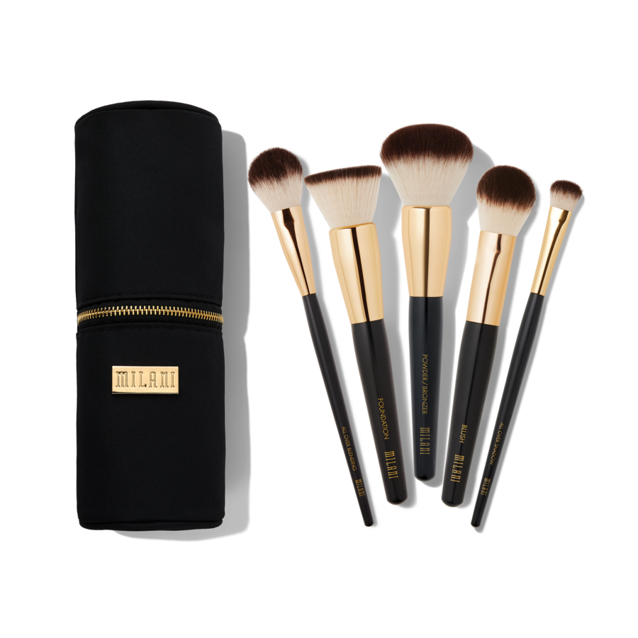 THE ESSENTIAL MAKEUP BRUSH SET