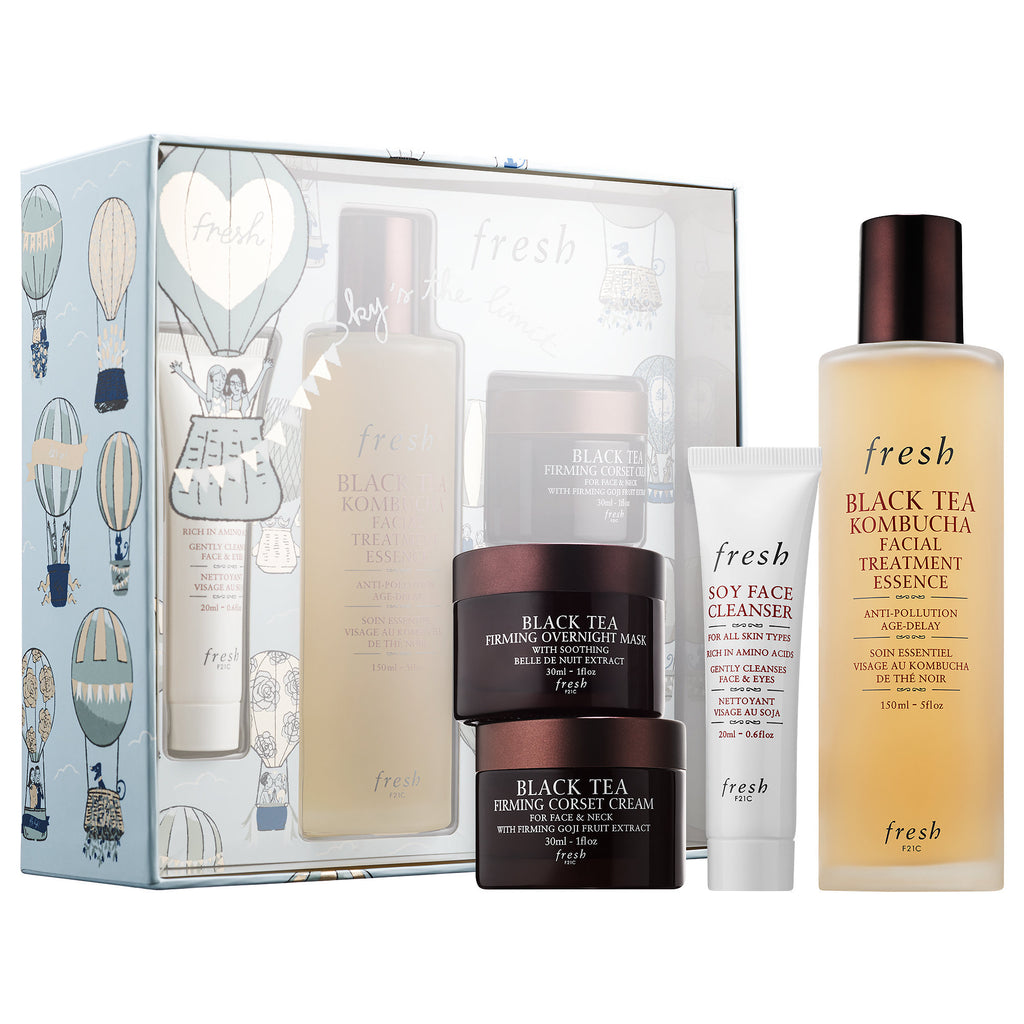 Black Tea Firming Beauty Bundle Gift Set
