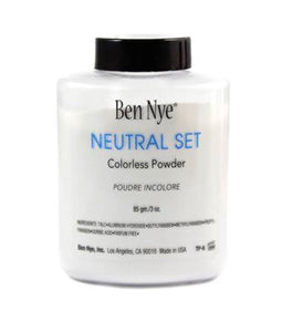 Ben Nye Neutral Set Colorless Face Powder 3.0 Oz - AmericanShop ByHanan