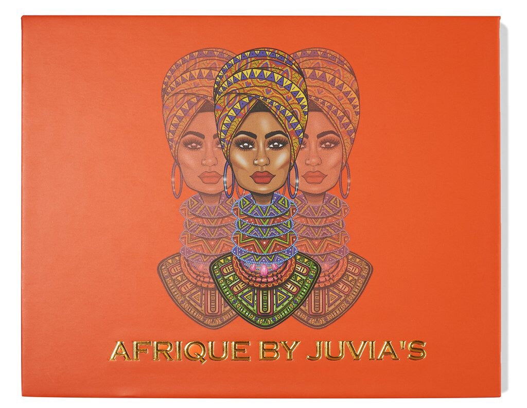 Afrique eyeshadow palette - Juvia's place - AmericanShop ByHanan