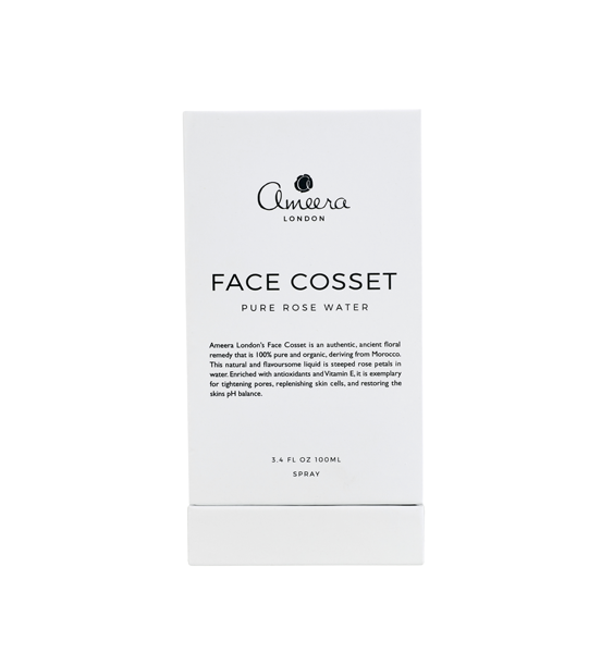 Face Cosset Pure Rose Water 100ml ameera london