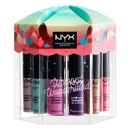 WHIPPED WONDERLAND SOFT MATTE METALLIC LIP CREAM SET