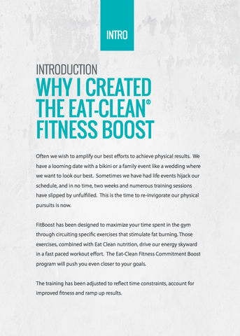 Tosca Reno's Eat-Clean® Fitness Boost