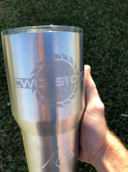 Cw Etched cups
