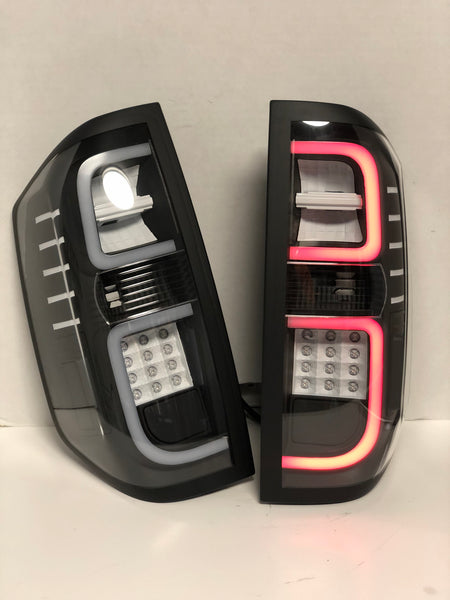 2014+ Toyota Tundra Custom Spyder Tail Lights