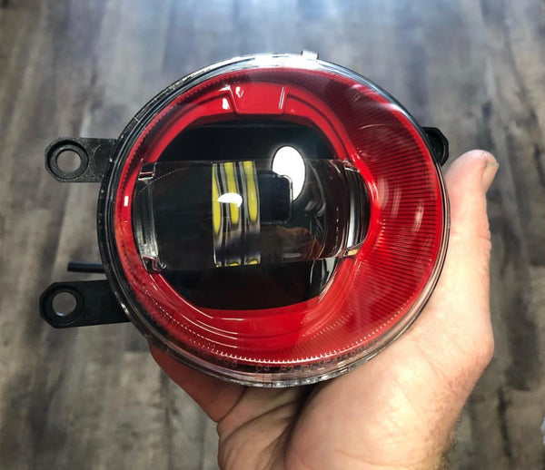 Custom Moriomoto XB Fog Light set (Oval)