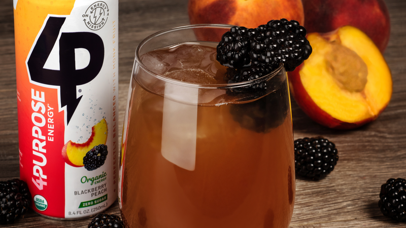 Challenge Accepted: Zero Sugar Flavor - Blackberry Peach
