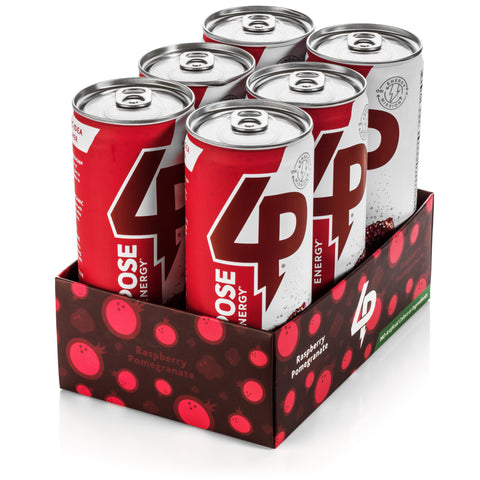 The 6 Pack - Raspberry Pomegranate Organic Energy Drink (6 Cans)
