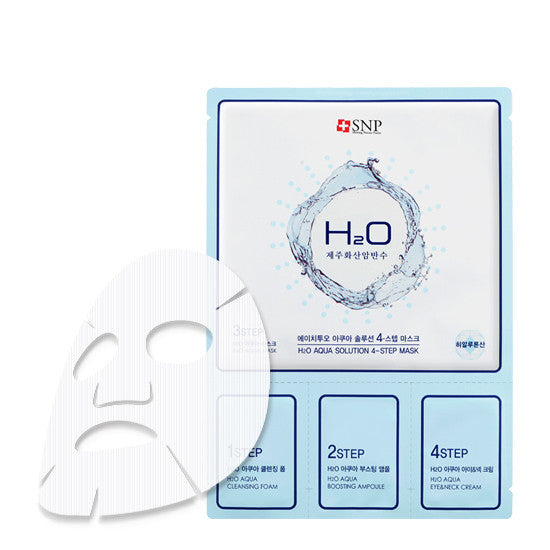 SNP H2O Aqua Solution 4-Step Mask - Go Go Beauty