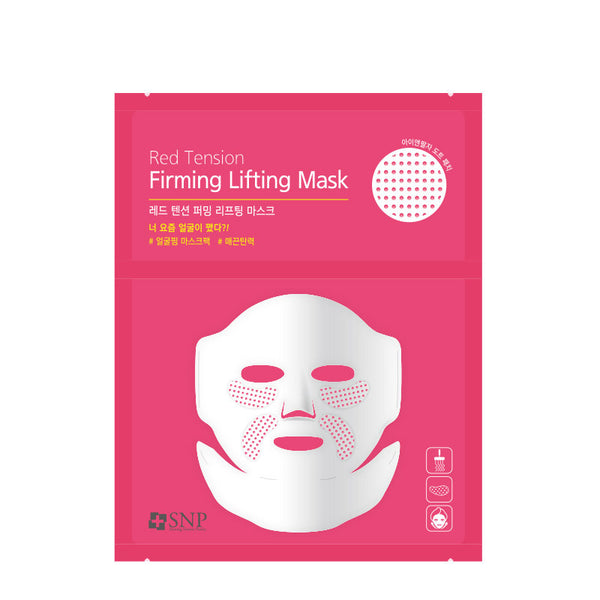 SNP Red Tension Firming Lifting Mask