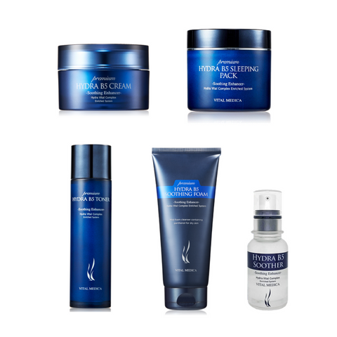 A.H.C 5-PIECE SKINCARE SET