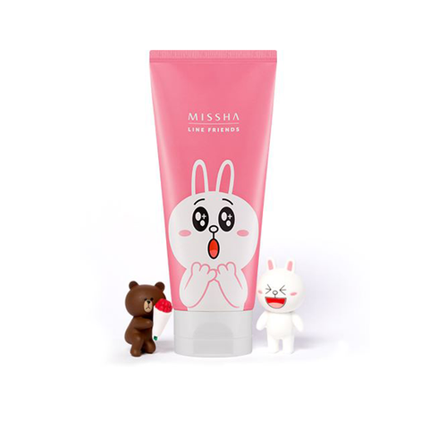 MISSHA X LINE FRIENDS Flower Bouquet Cleansing Foam - Go Go Beauty