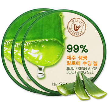 THE SAEM Jeju Fresh Aloe Soothing Gel 99% - Go Go Beauty