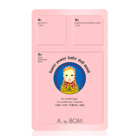 A. BY BOM Super Power Baby Doll Mask