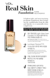 VDL Real Skin Foundation SPF30 PA++