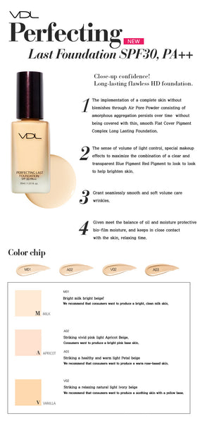 VDL Perfecting Last Foundation SPF30 PA++
