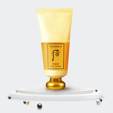 THE HISTORY OF WHOO Gongjinhyang Foam Cleanser