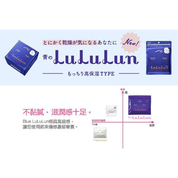 LULULUN Rich Moisture Sheet Mask [7-Day]