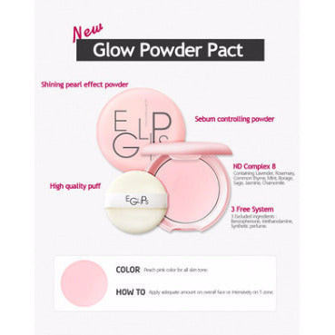 EGLIPS Glow Powder Pact - Go Go Beauty - 2