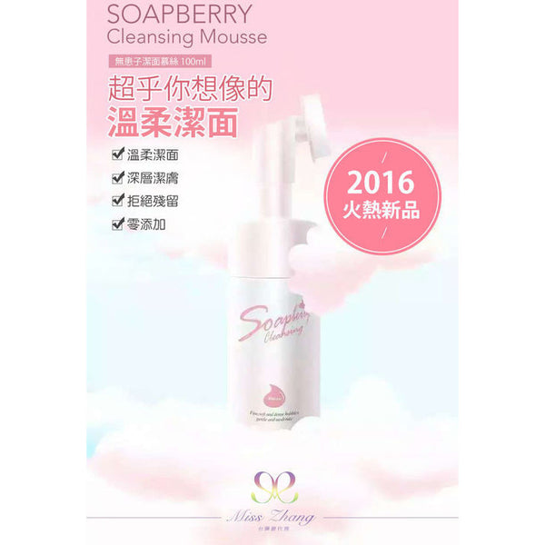MISS ZHANG Soapberry Cleansing Mousse - Go Go Beauty - 2