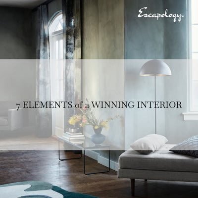 Free : get our new ebook - 7 elements of a winning interior