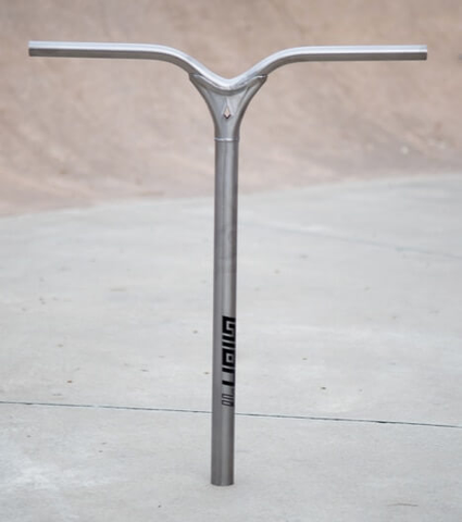Envy - Union Titanium Bars V2 650mm Raw  Scooter Parts & Accessories Envy- Wheelz Inc.