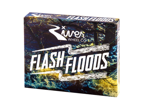 River - Flash Flood Bearings - 4 Pack  Bearings River- Wheelz Inc.