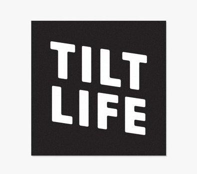 Tilt Life Sticker  stickers Tilt- Wheelz Inc.
