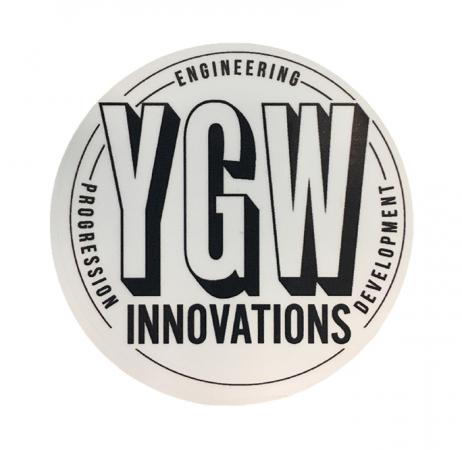 YGW Sticker  stickers YGW- Wheelz Inc.