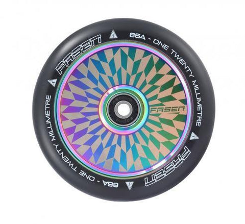 Fasen 120mm Wheel Hollow Core  Wheels fasen- Wheelz Inc.