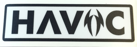 Havoc sticker  stickers Havoc- Wheelz Inc.
