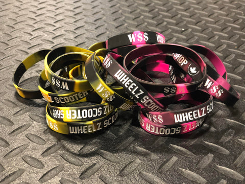 Wheelz Wrist Bands - Assorted  Accessories Wheelz- Wheelz Inc.