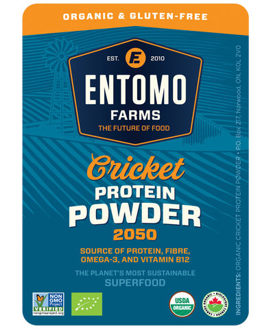 Cricket Protein Powder - Organic & Gluten Free - Entoeats