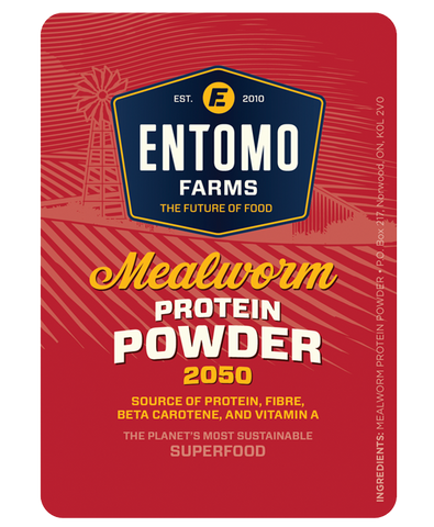 Mealworm Protein Powder - Entoeats