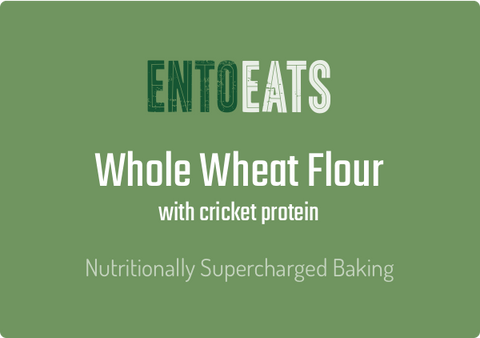 Cricket Enriched Whole Wheat Flour - Entoeats
