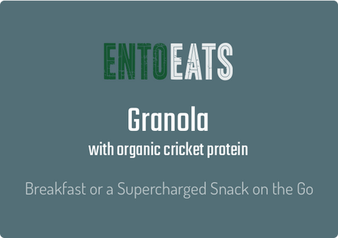 Organic Cricket Granola - Entoeats