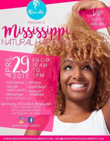 Don't Miss Out On The Mississippi Hair Expo