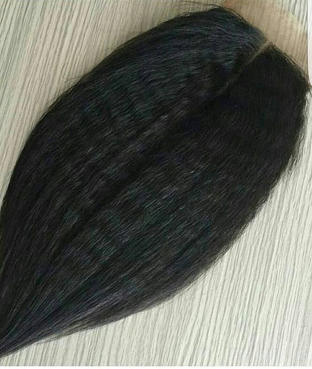 Peruian Kinky Straight - Closure/Frontal