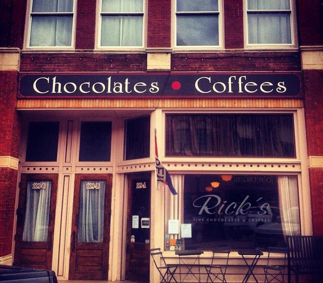 Rick's Fine Chocolate front store