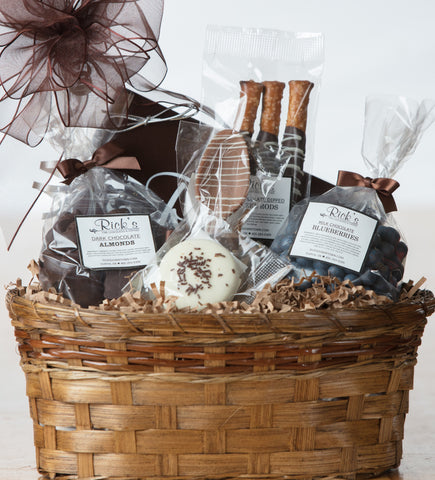 Standard Chocoholic Gift Basket