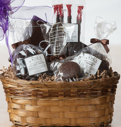 Standard Dark Chocolate Lovers Basket