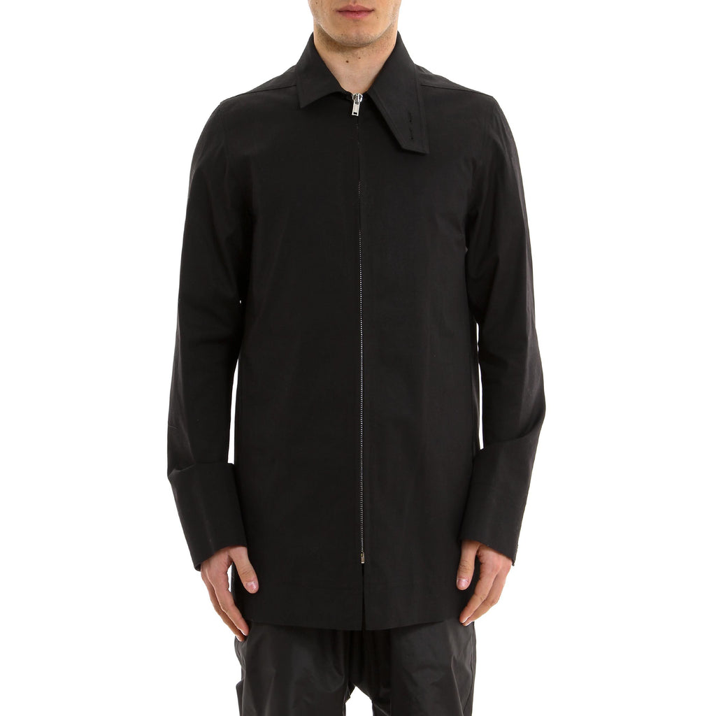 Rick Owens Assymetric Collar Jacket