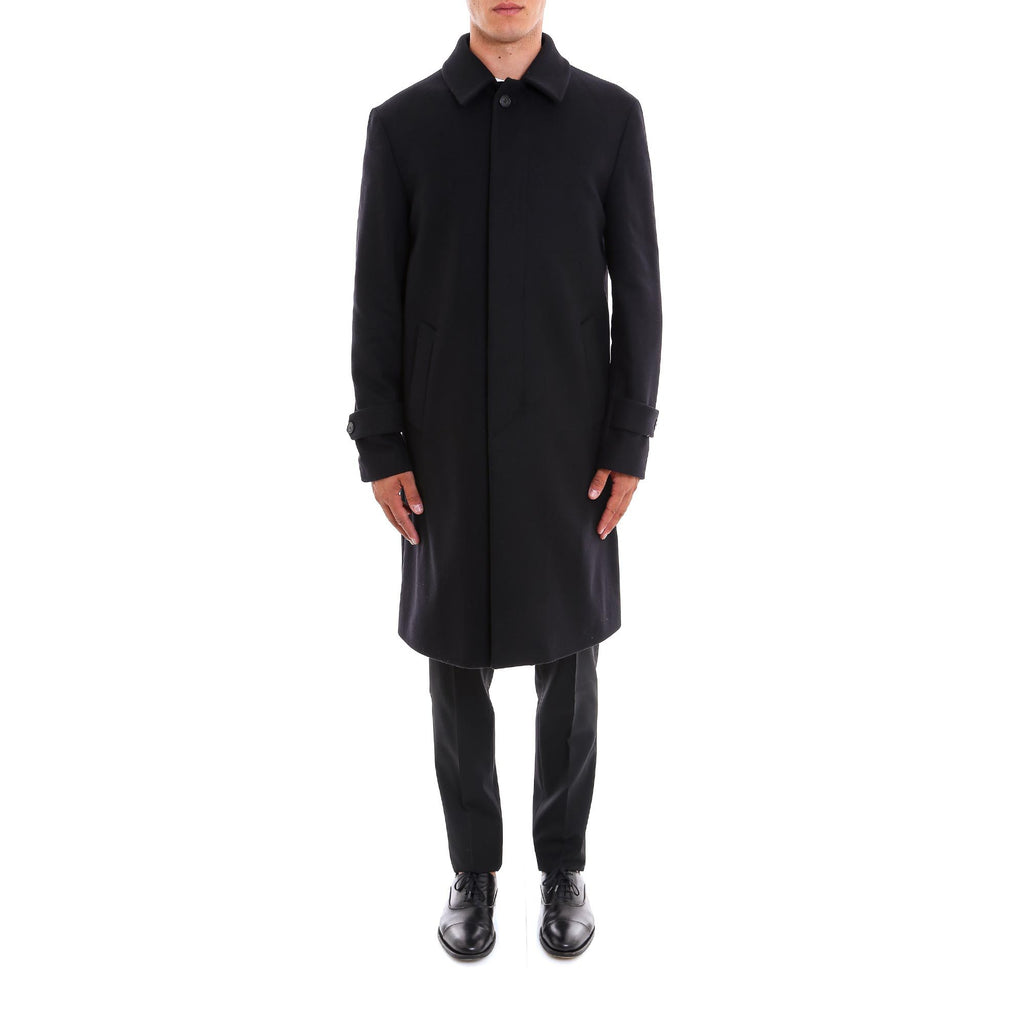 Hevo Button-Front Trench Coat