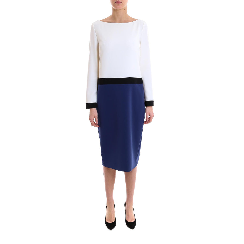 Max Mara Zelanda Colourblock Dress