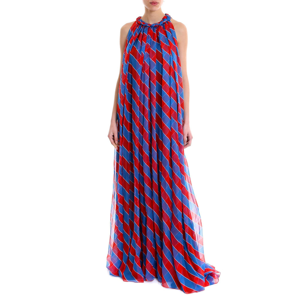Philosophy Di Lorenzo Serafini Striped Maxi Dress