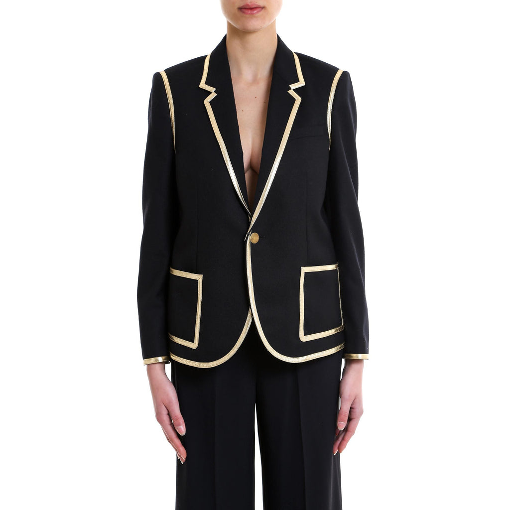 Saint Laurent Piped Blazer